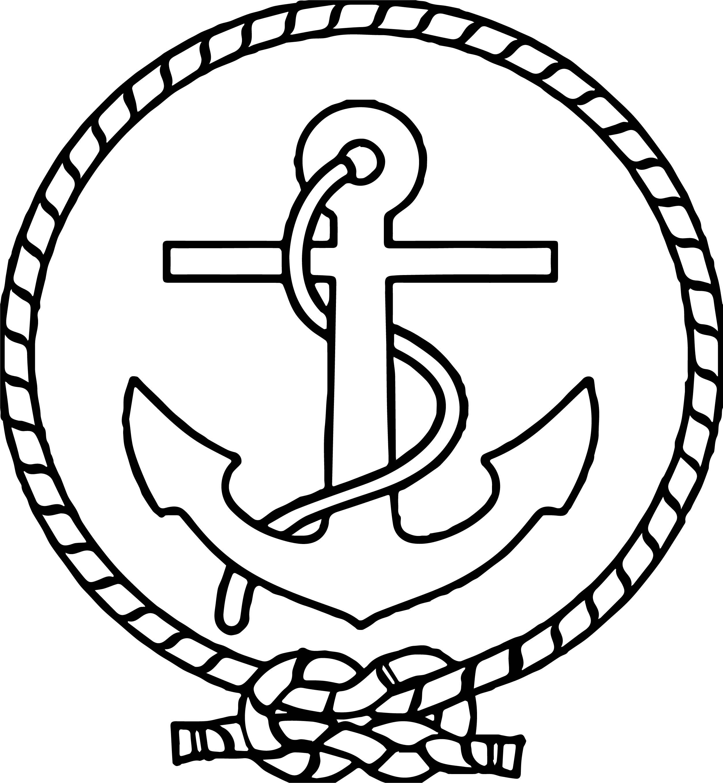 Marine Logo Drawing