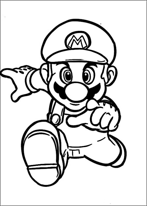 567x794 Mario Bros Drawing