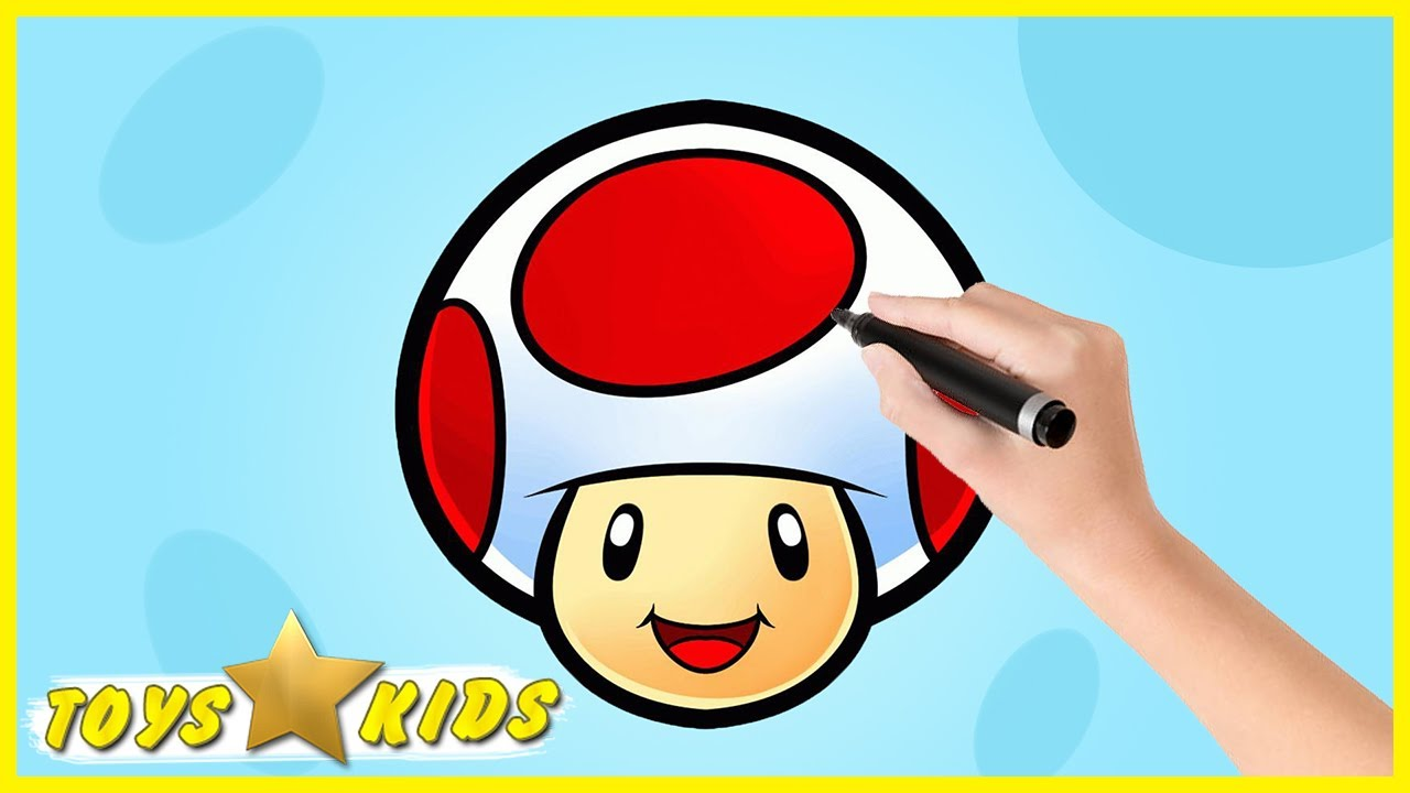 1280x720 Mario Bros Drawing And Coloring Super Mario Bros Video For Kids