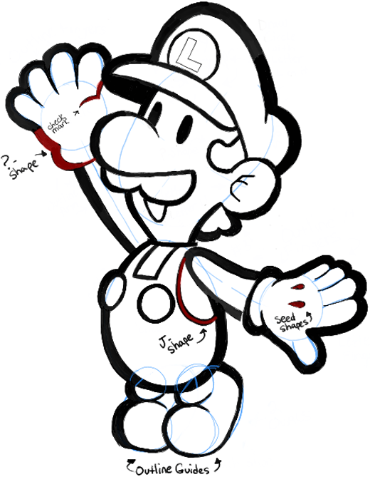 520x669 Mario Bros Drawing, Pencil, Sketch, Colorful, Realistic Art