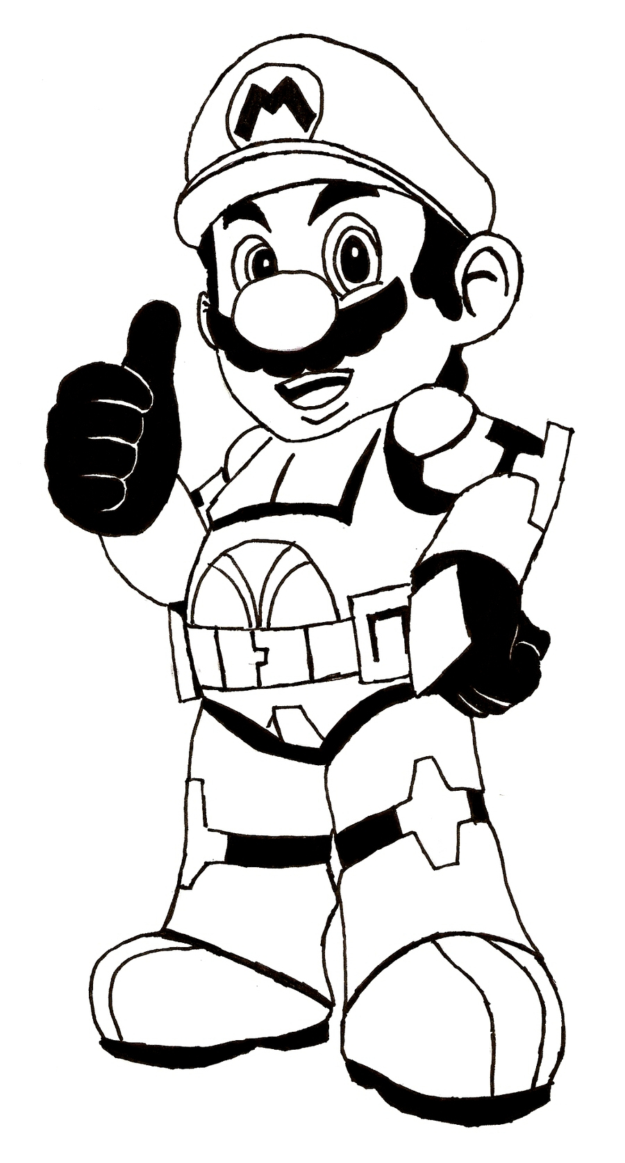 900x1675 Coloring Pages Mario Bros Best Brothers Drawing