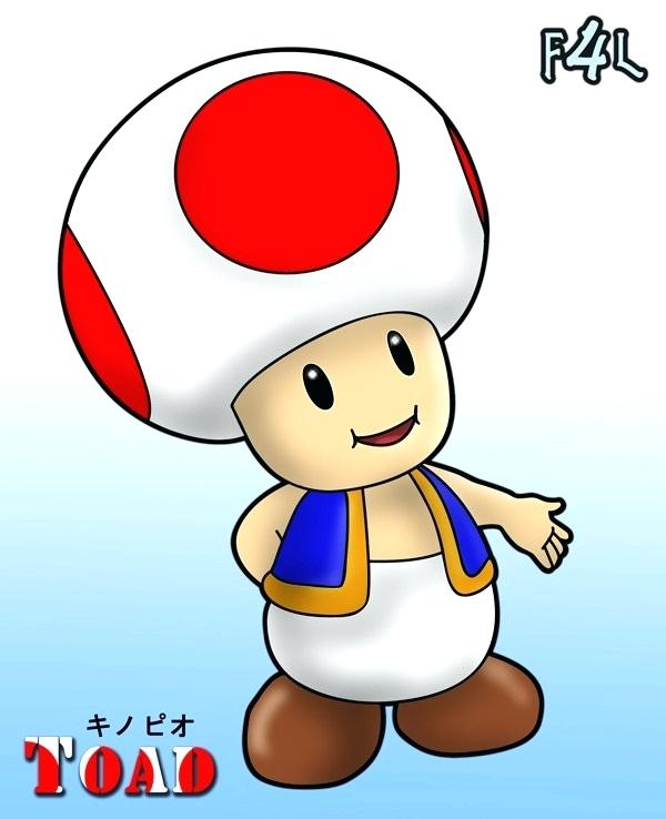 600x738 how to draw toad from mario drawn toad gaming draw toad super