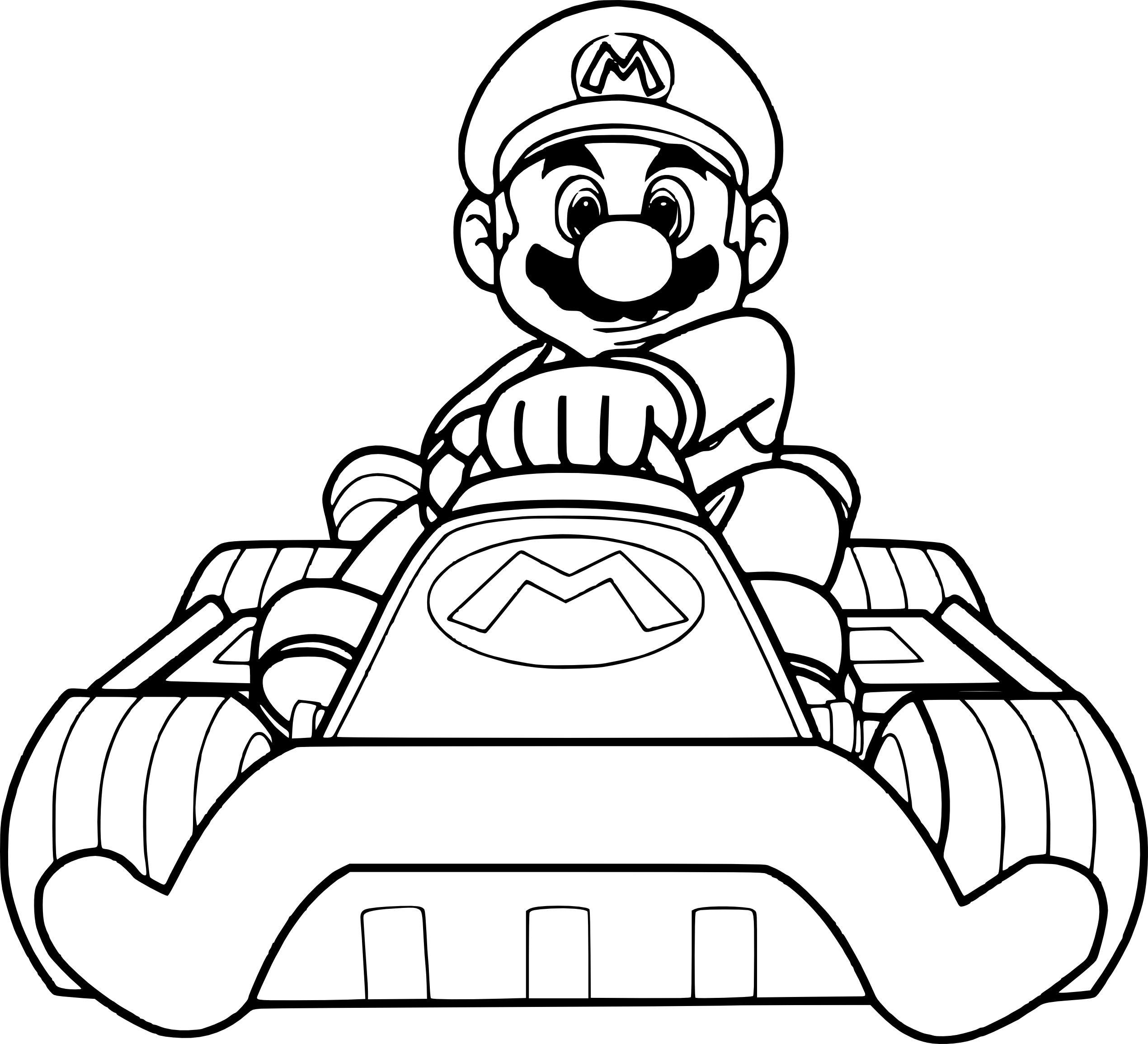 Mario Kart 8 Drawings Free Download On Clipartmag