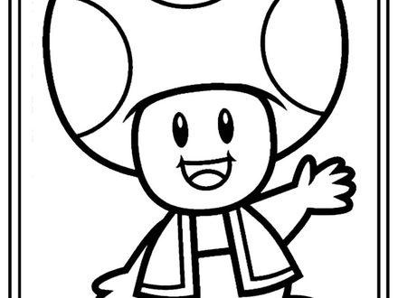 Mario Mushroom Drawing