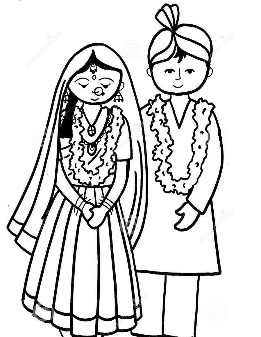 898x1156 Poster Drawing Child Marriage For Free Download
