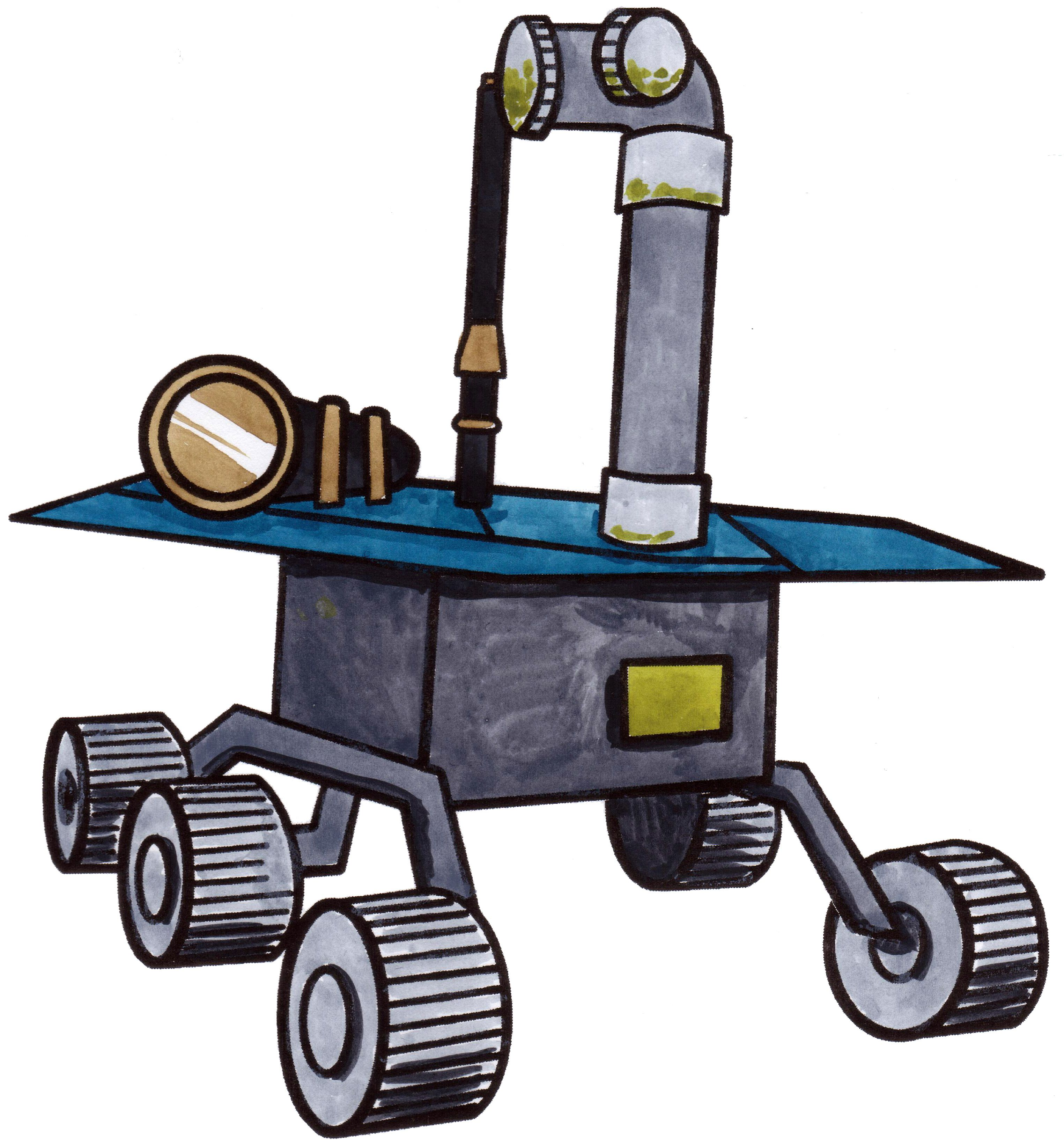 3048x3282 How To Draw A Space Rover Rovers Are Sent To Planets That Are