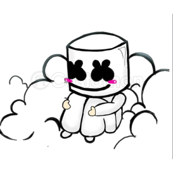 Marshmallow Drawing