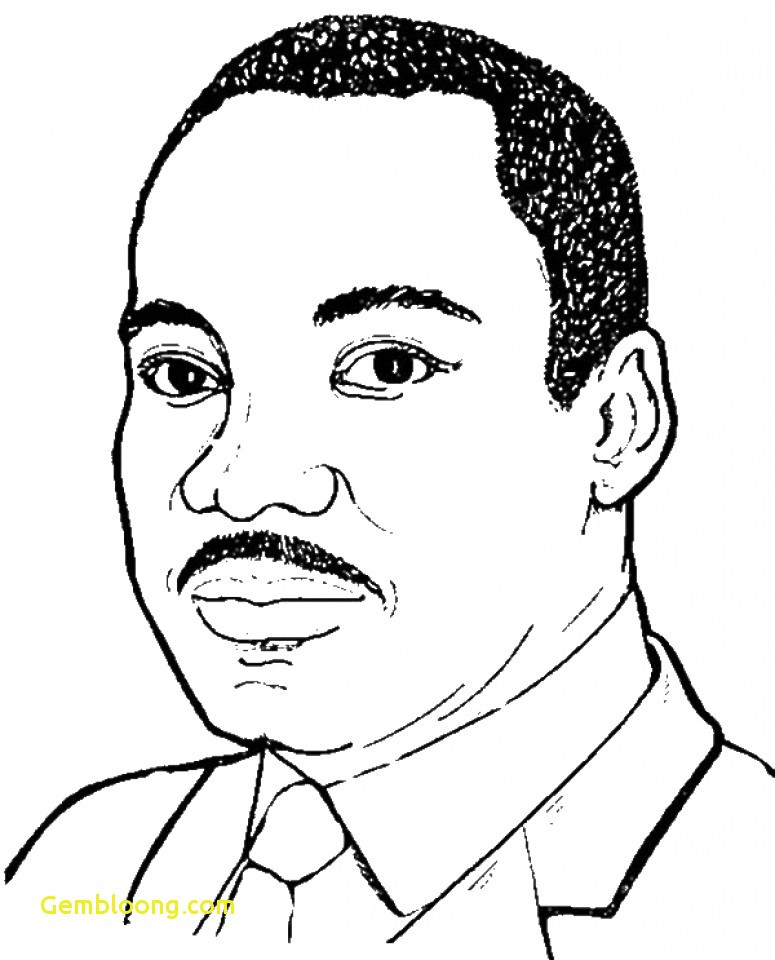 775x960 martin luther king coloring pages unique martin luther king jr drawing