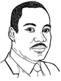 Martin Luther King Drawing