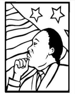 260x325 martin luther king jr coloring pages printable lovely martin