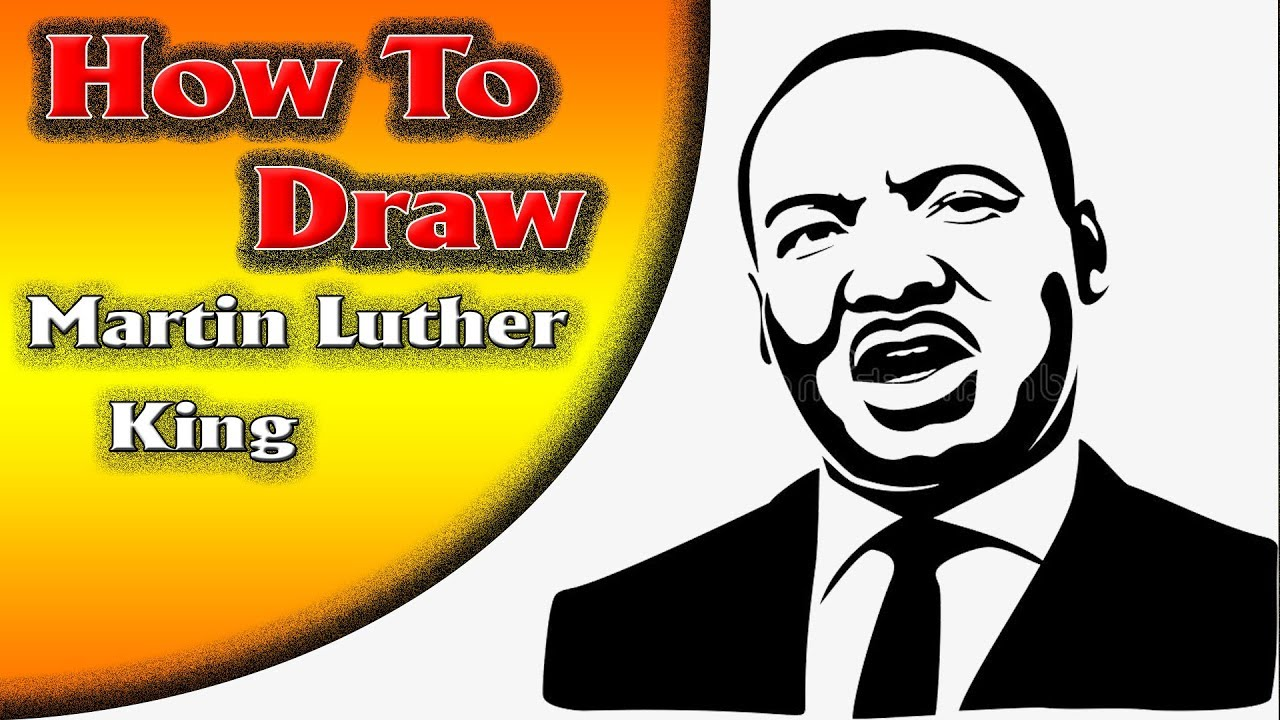 1280x720 martin luther king how to draw martin luther king very easy