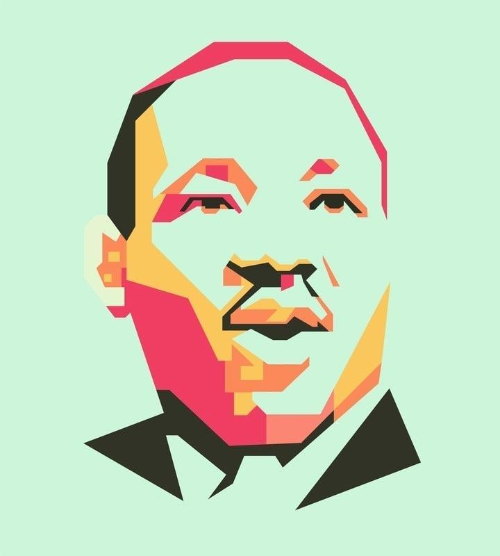 720x800 Martin Luther King Jr Cartoon