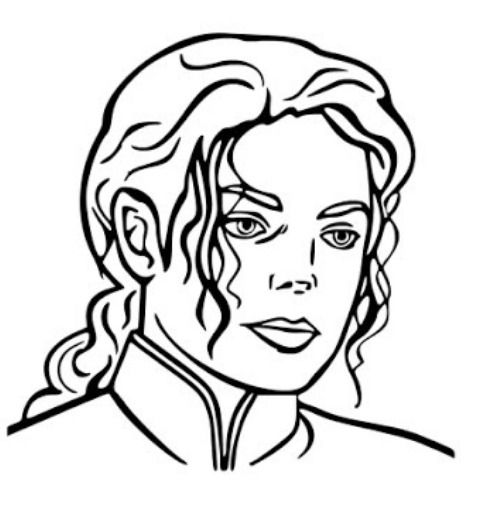 480x508 You Can Learn How To Draw Michael Jackson Face Step