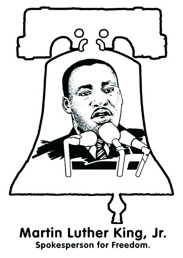 600x843 free printable dr martin luther king coloring pages martin king