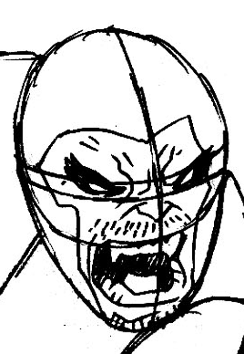 500x724 How To Draw Beast From Marvel's X Men Superhero Team Drawing