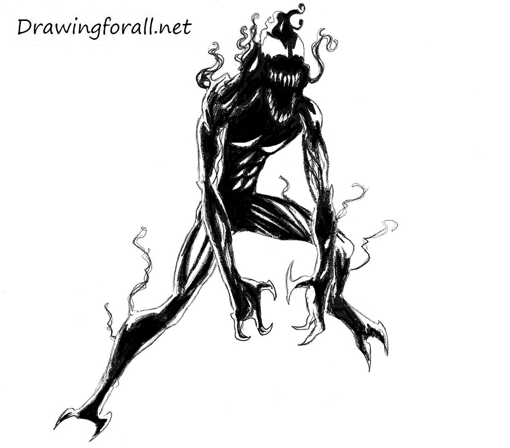 1000x878 Carnage Marvel Drawings Wallpaper Funny Wallpapers Download Free