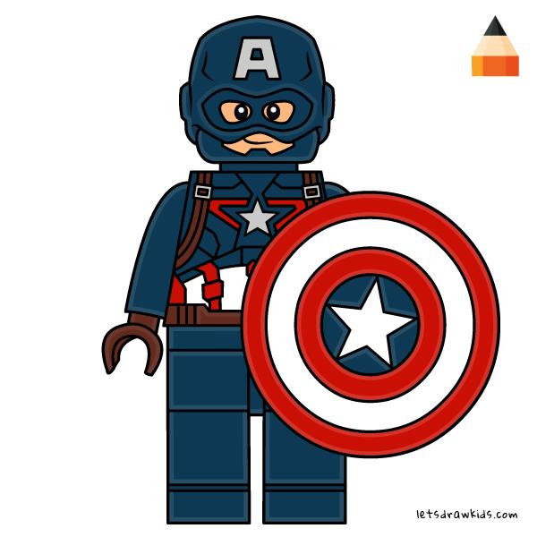 600x600 Drawing Lego Avengers Endgame
