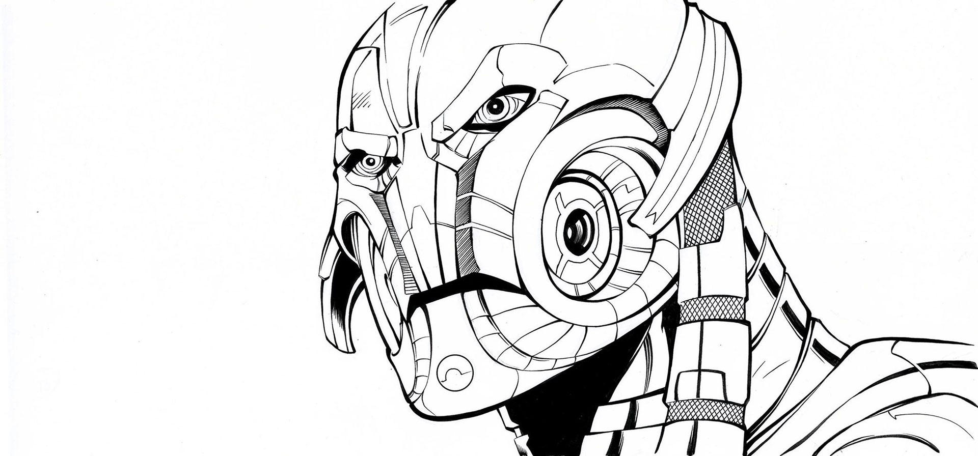 1920x896 Ron Lim Ultron Marvel Heroes In Anthony Fowler's Anthony