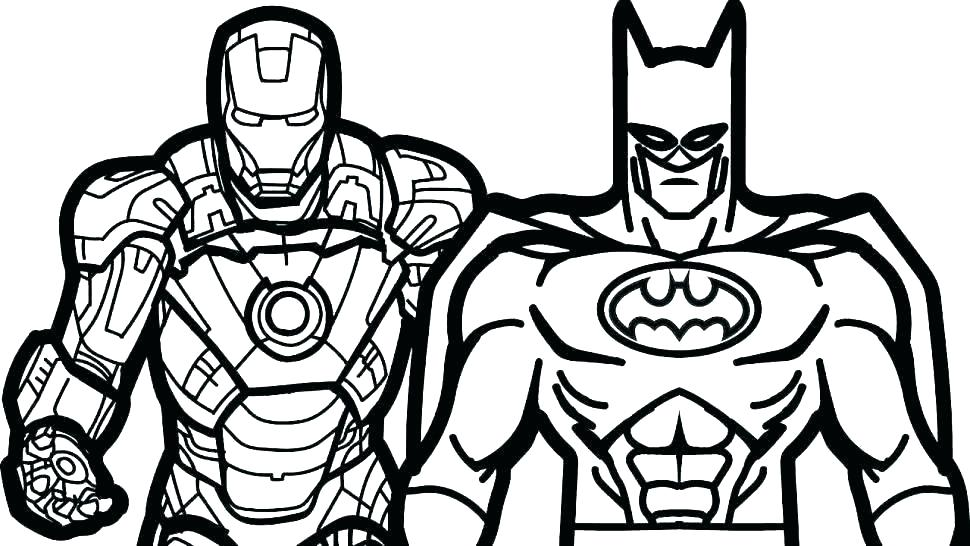 970x546 Lego Super Heroes Coloring Pages
