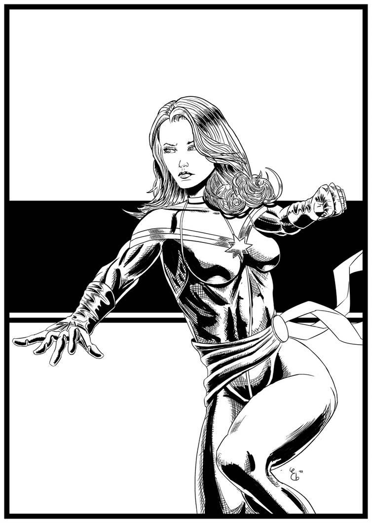 754x1059 Captain Marvel