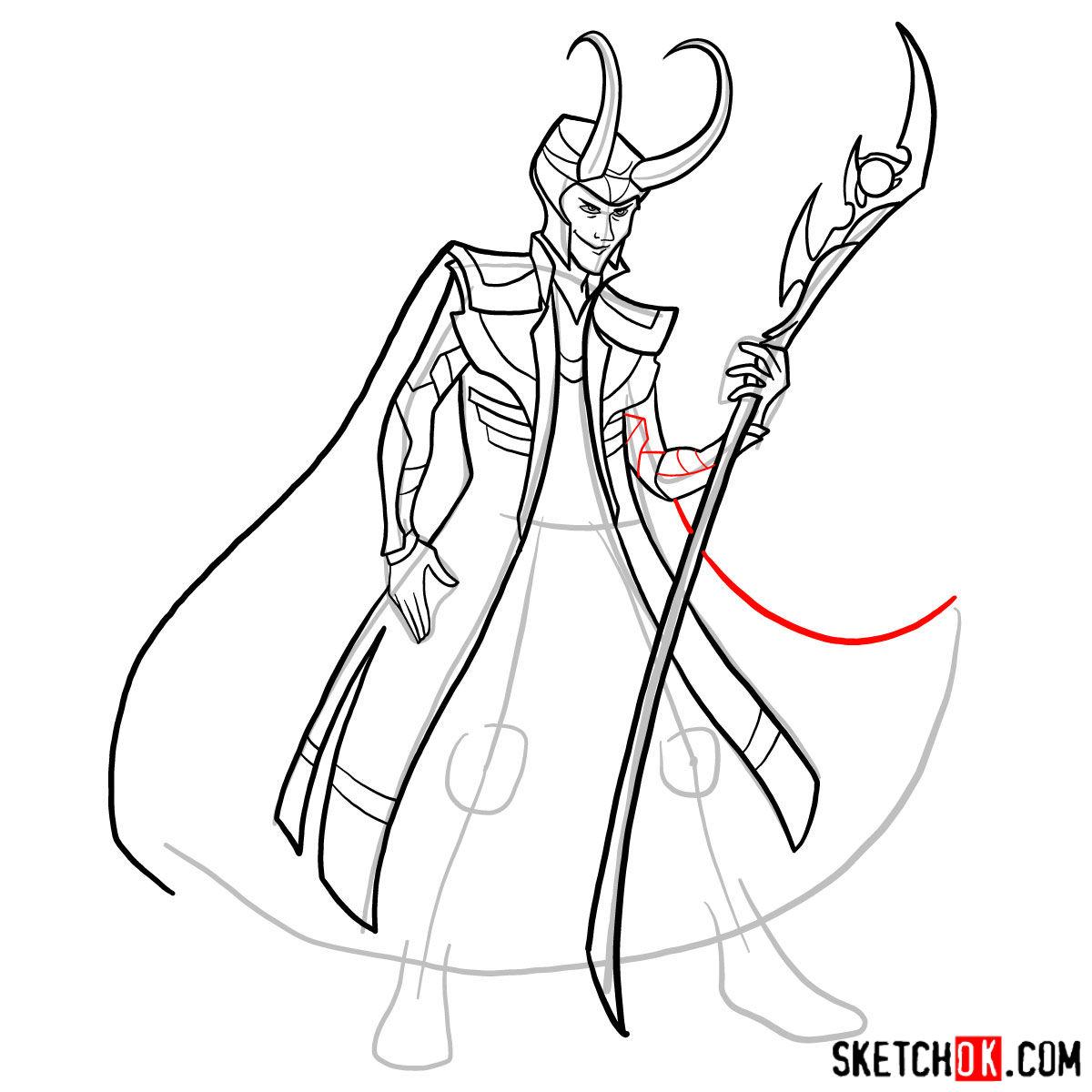 1200x1200 How To Draw Loki