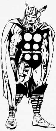 190x439 Style Marvel Comics Thor