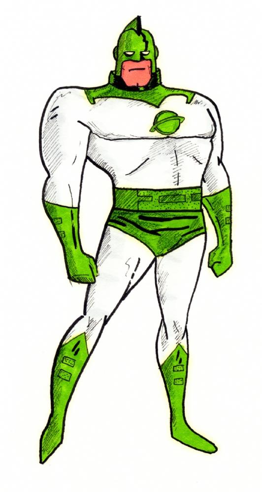 532x1000 Captain Marvel Animated Style, In John Milewski's My Art Comic Art