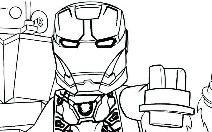 720x448 Lego Marvel Superhero Colouring Pages Civil War Coloring Pages