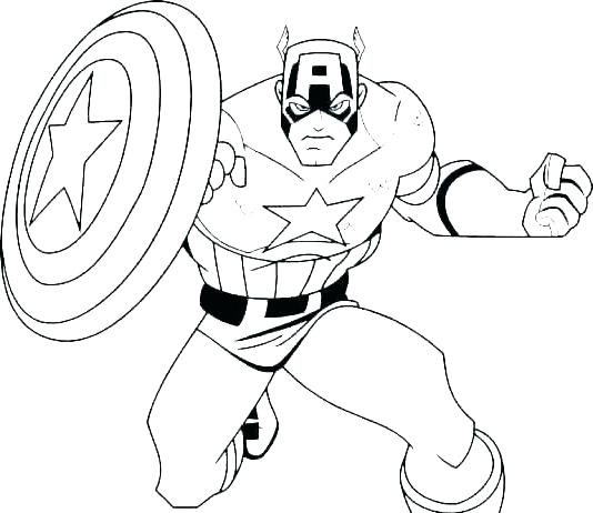 534x462 Marvel Comic Coloring Pages Superheroes Colori Free Hero Factory