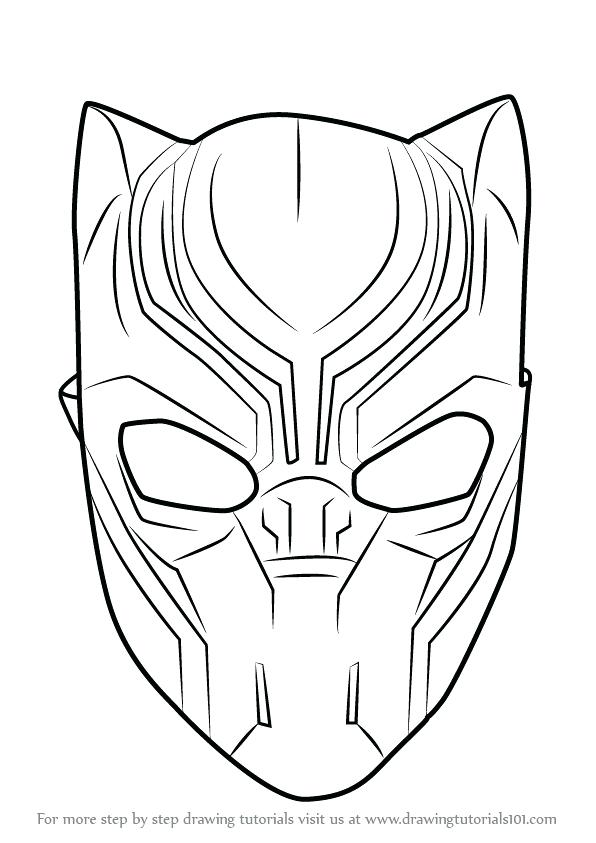 596x843 Wondrous Ideas Black Panther Coloring Pages Black Panther Drawing