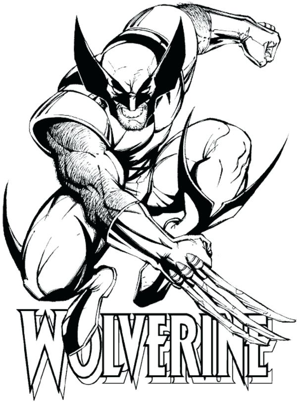 600x812 Marvel Coloring Pages To Print