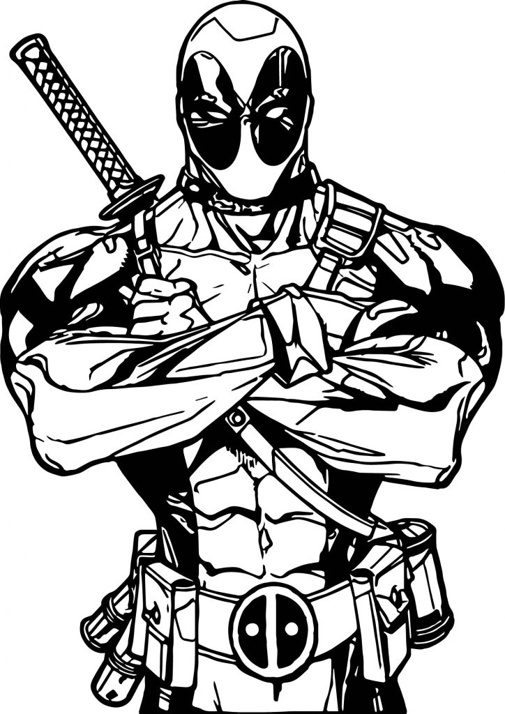 724x1024 Coloring Pages Fresh Lego Deadpool Colouring Rgbdesign Co