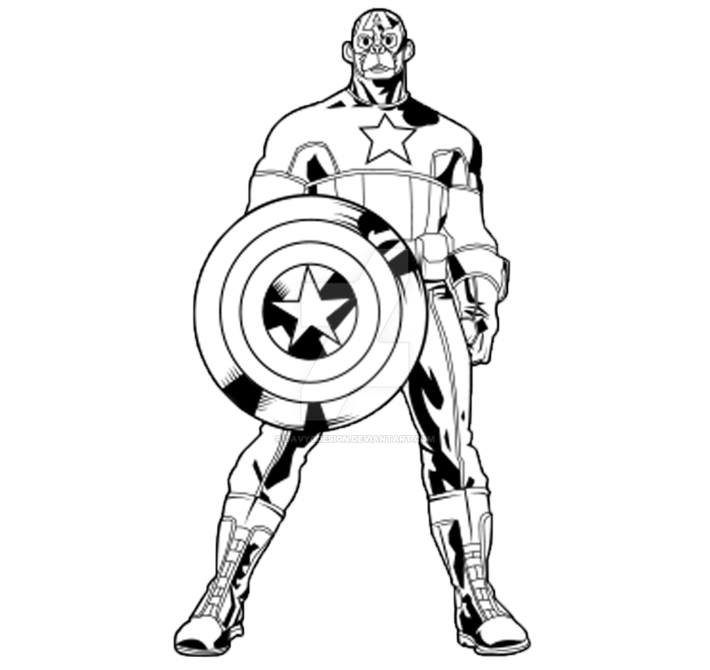 1024x967 Drawing Marvel Captain America Transparent Png Clipart Free