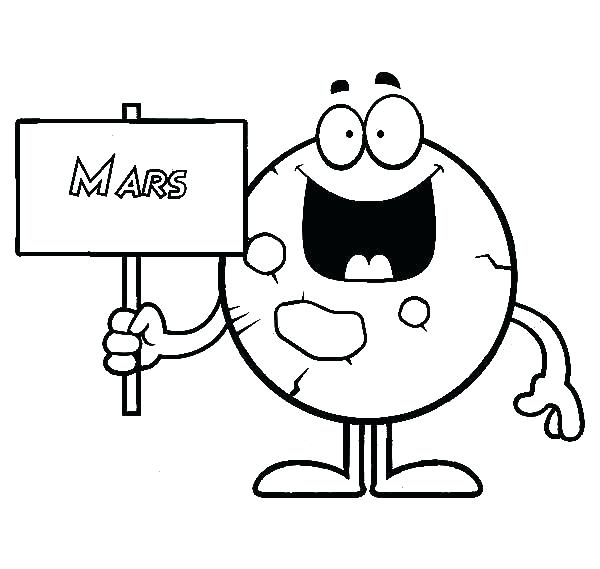 600x569 coloring pages of mars how to draw planet mars coloring pages