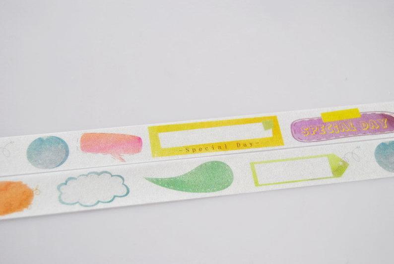794x532 x tag washi tape diary filofax masking tape etsy