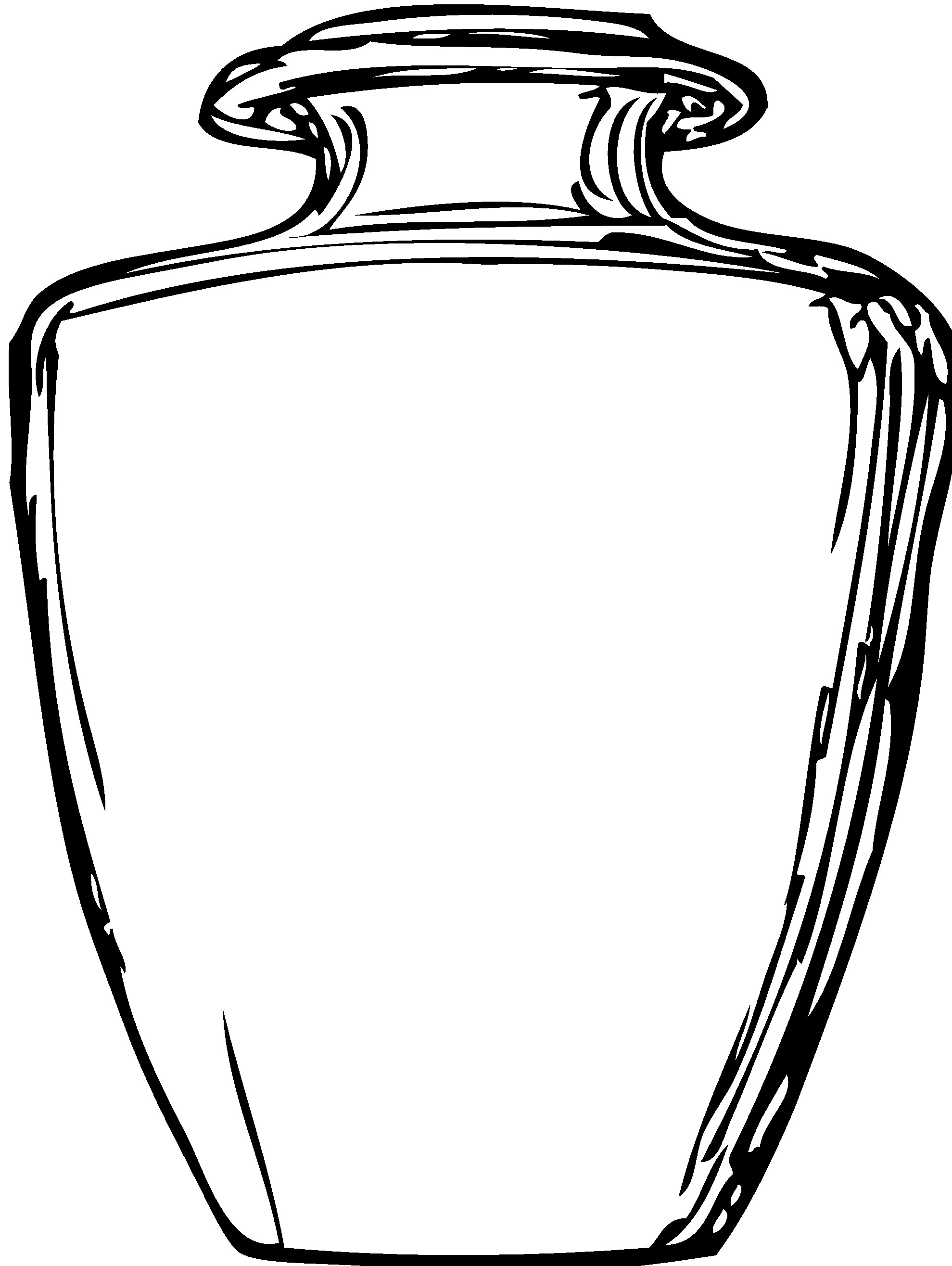 Mason Jar Line Drawing