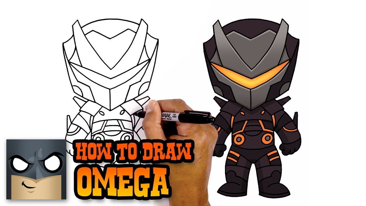 1280x720 How To Draw Fortnite Omega