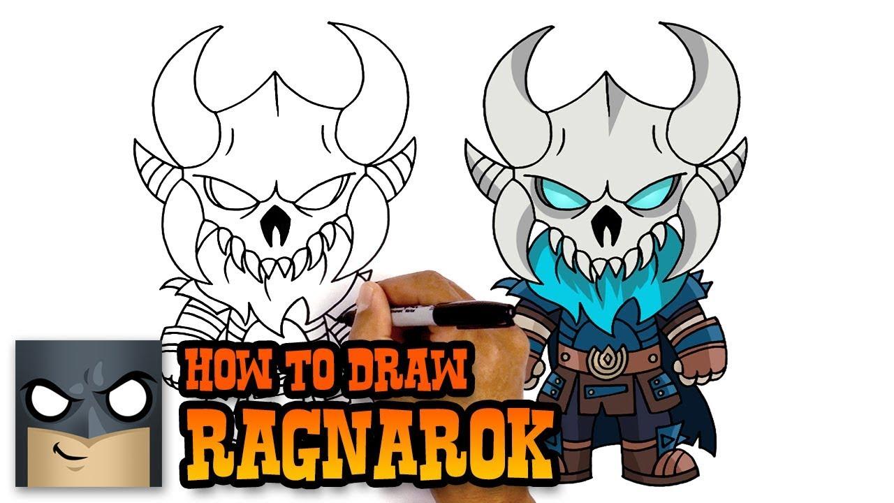 1280x720 How To Draw Fortnite Ragnarok
