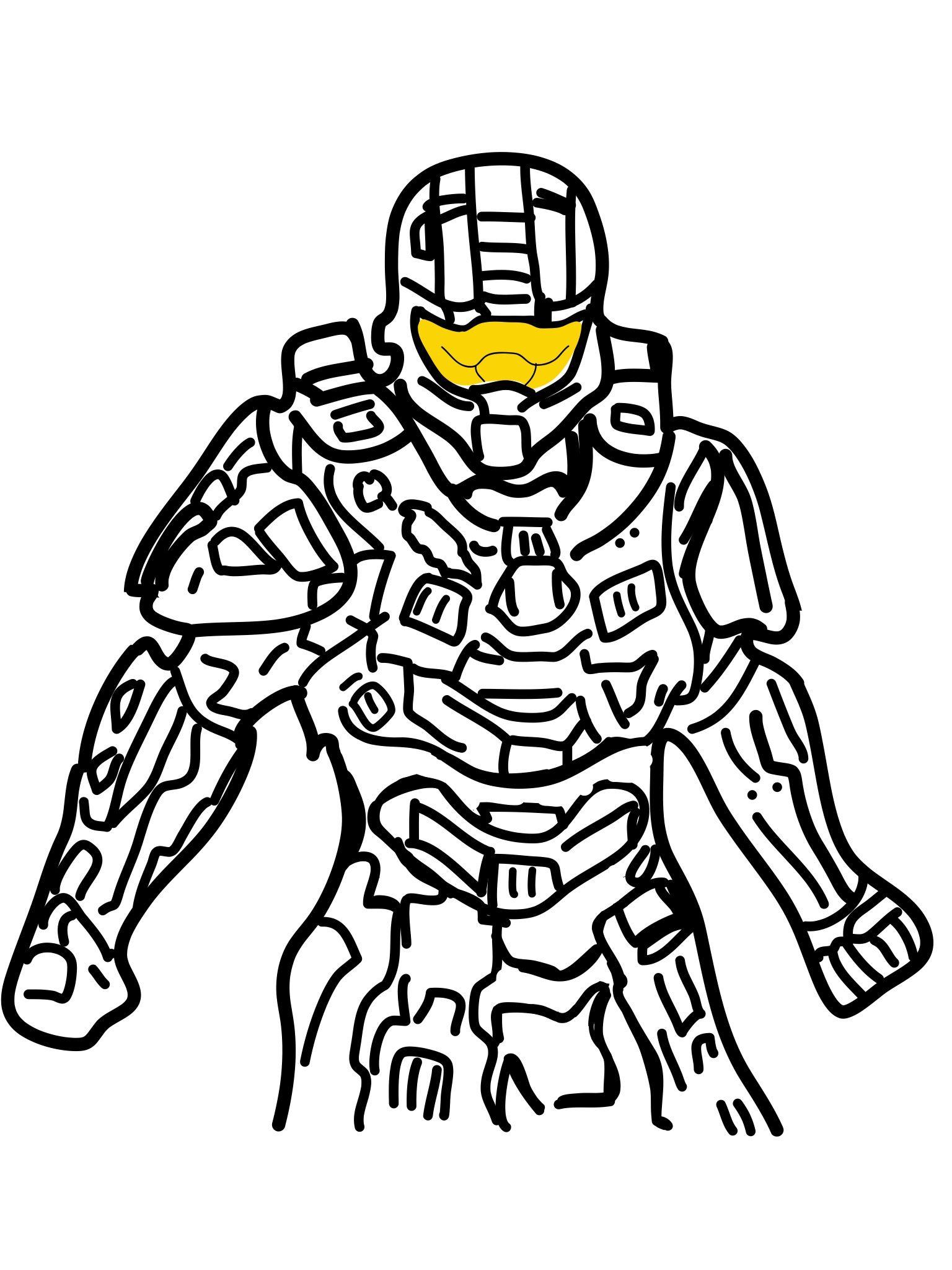 1536x2048 Master Chief Halo Drawings Fictional Characters, Drawings, Cartoon