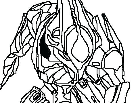 480x360 Free Online Halo Coloring Pages Reach To Master Chief Printable