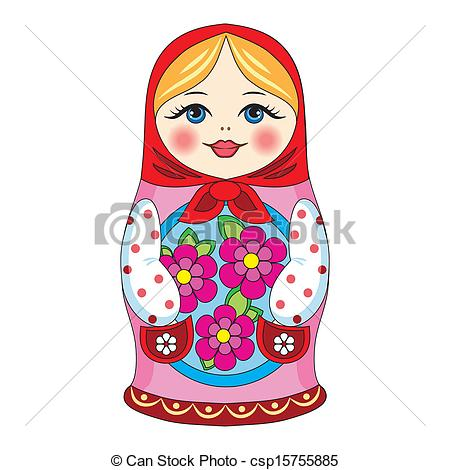 450x470 russian doll illustrations and clipart russian doll royalty