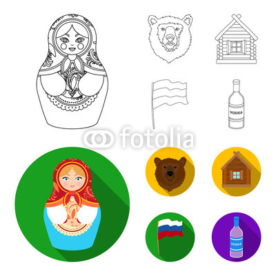 400x400 russia, country, nation, matryoshka russia country set collection