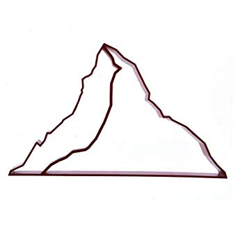 355x352 Matterhorn Souvenir Cookie Cutter Grey Amazon Ca Home Kitchen