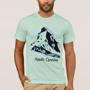 307x307 Climbing The Matterhorn American T Shirts Zazzle Au