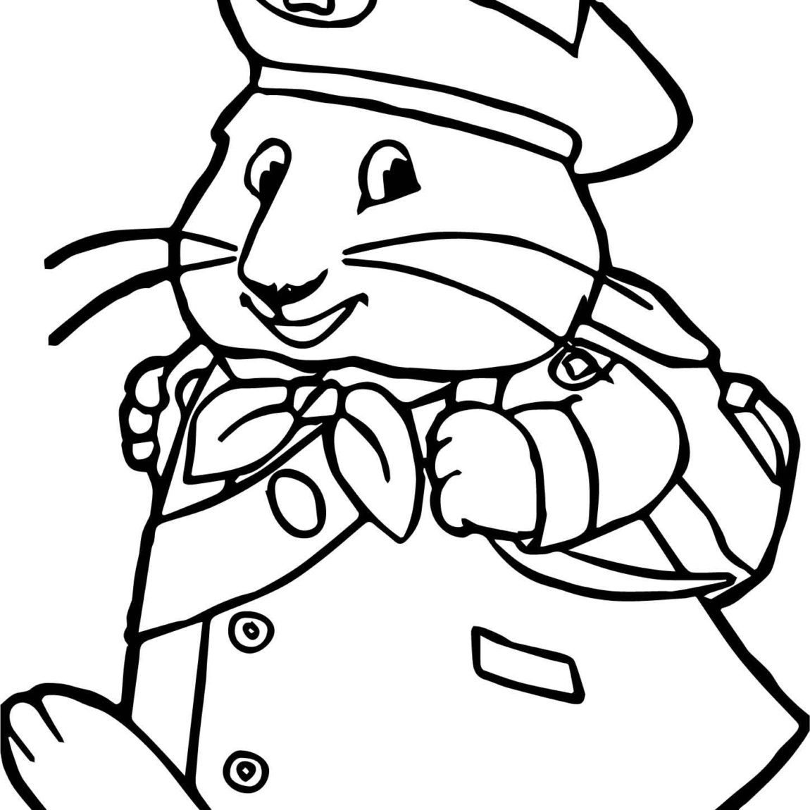 1150x1150 Max And Ruby Coloring Pages To Print