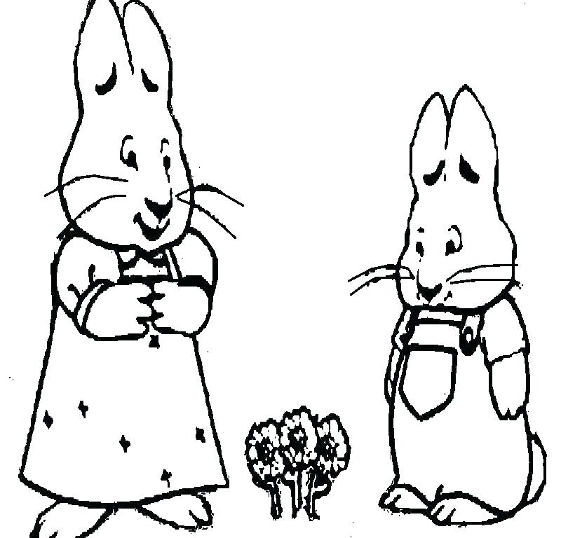 800x768 Max And Ruby Coloring Pages Zupa