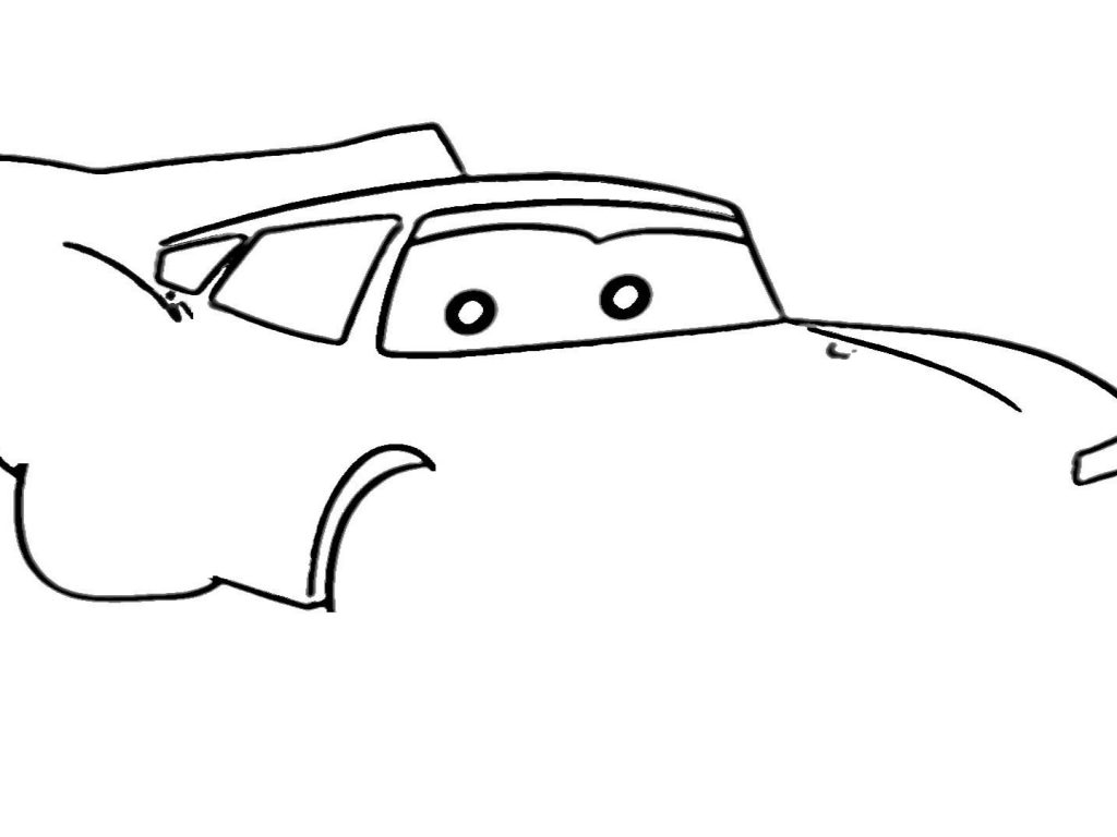 1024x768 Beautiful Lightning Mcqueen Drawing Cars Wallpapers Luxury Easy