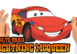 300x210 Cars Lightning Mcqueen Drawing How To Draw Lightning Mcqueen