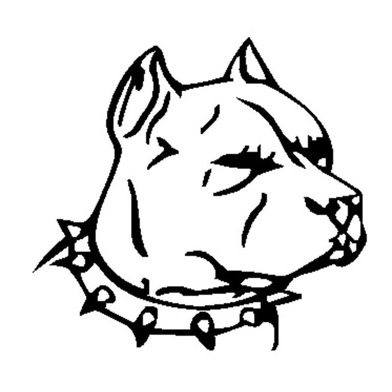 Mean Bull Drawing