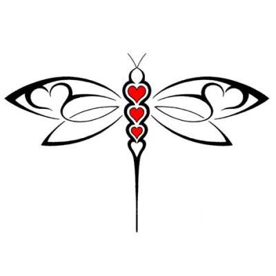 400x400 Huge Collection Of 'dragonfly Tattoo Drawing' Download More Than
